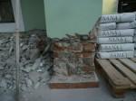 Odstranění degradovaného zdiva